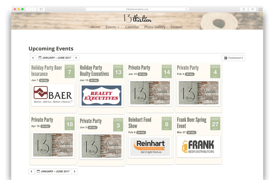 Restaurant website design Madison, WI - Enlightened Owl Digital